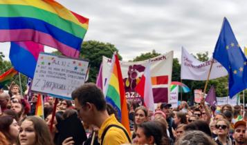 marsz LGBT w Płocku/ fot. Twitter