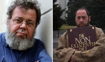 Prof. Aleksander Nalaskowski i Jan Hartman