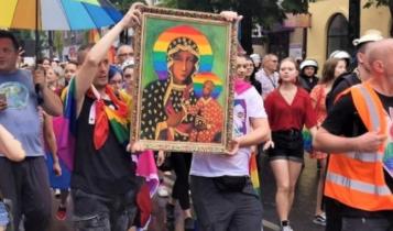 marsz LGBT w Częstochowie/ fot. screen