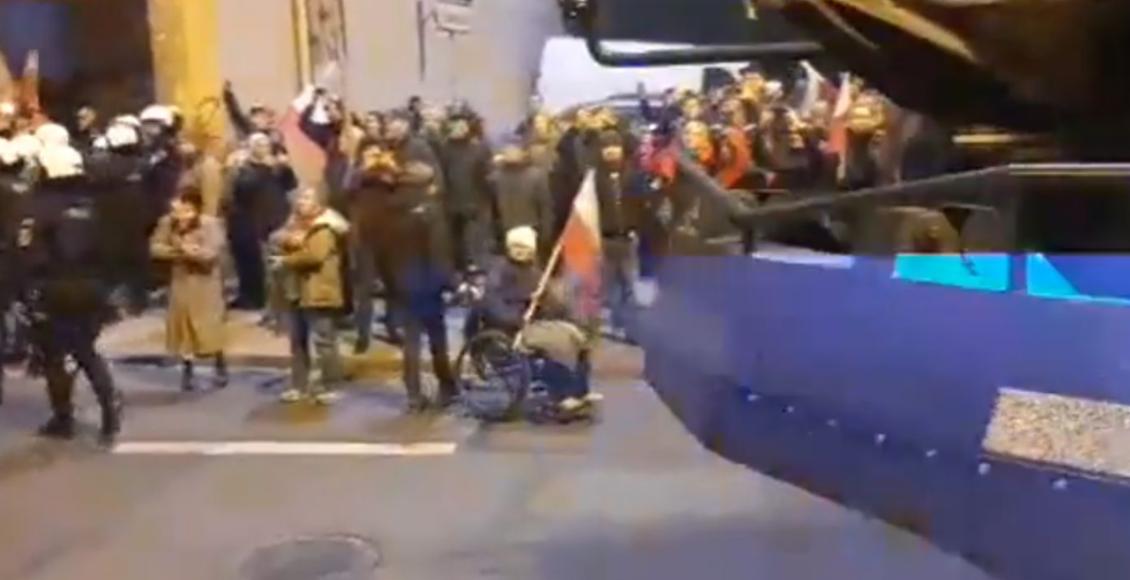 Marsz Polaków we Wrocławiu 2019/ fot. screen