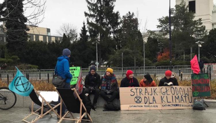 strajk głodowy dla klimatu/ fot. Facebook