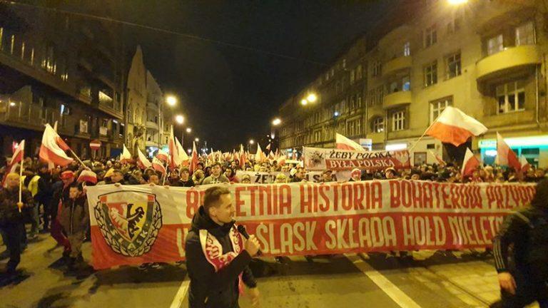 Marsz Polaków we Wrocławiu 11.11.2019 / Fot. EM