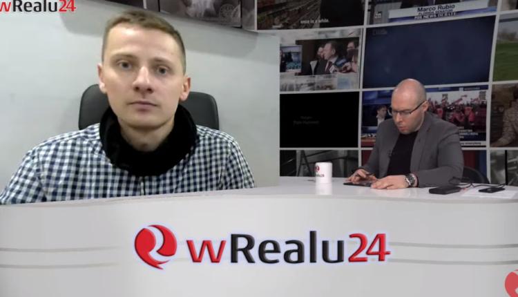 Jacek Międlar w wRealu24/ fot. screen