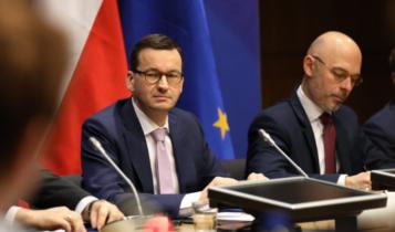 premier Morawiecki i minister ds. klimatu Michał Kurtyka/ fot. Twitter