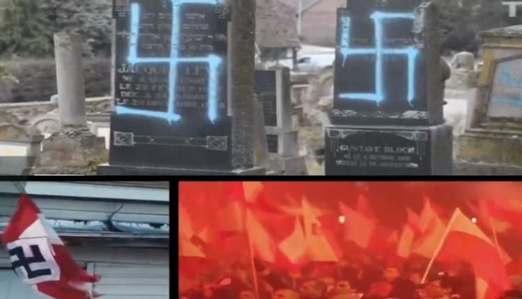 kadr z filmu pokazanego na Światowym Forum Holokaustu/ fot. screen