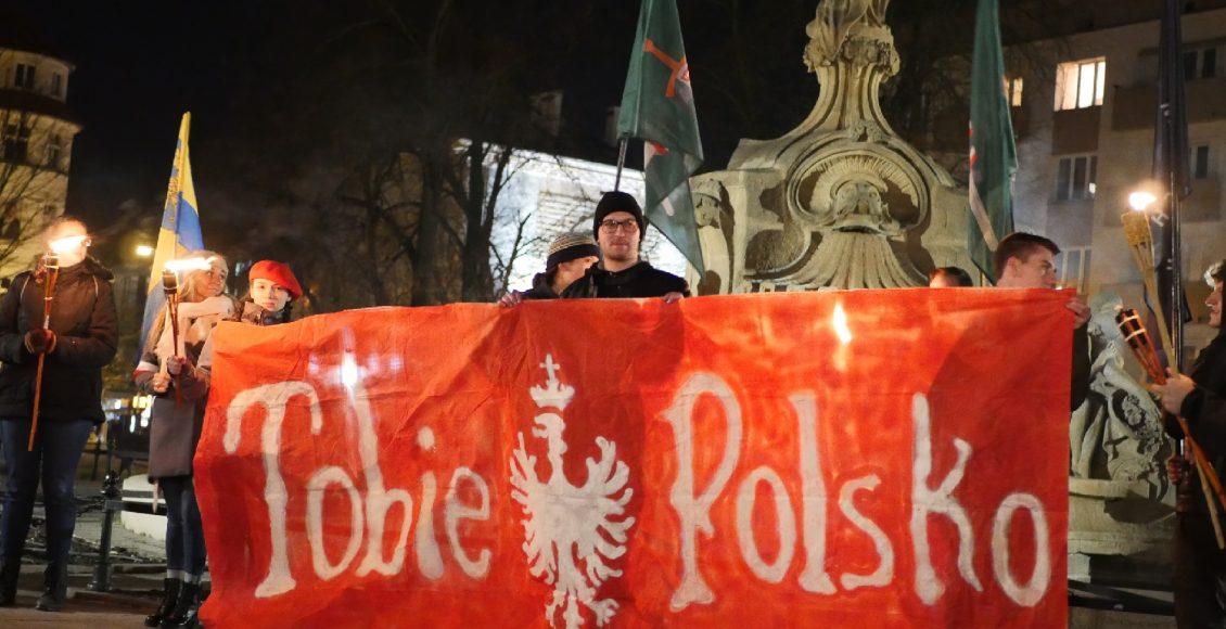 Marsz Pamięci Polskich Ofiar Tragedii Górnośląskiej w Opolu - 31.01.2020 / Fot. JM