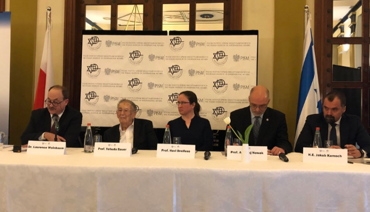 polsko-izraelska konferencja w Jerozolimie/ fot. Twitter