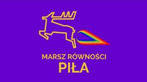 logo marszu równości w Pile/ fot. Twitter