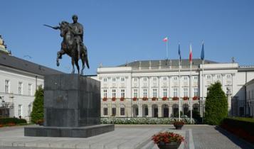 Pałac Prezydencki w Warszawie/ fot. Wikipedia