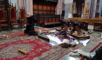 Profanacja kościoła w Dąbrowie Górniczej