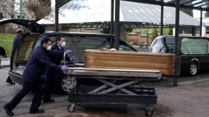 Pogrzeby w Hiszpanii / Fot. Reuters
