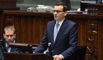 premier Mateusz Morawiecki/ fot. screen