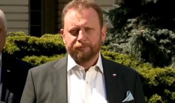 minister zdrowia Łukasz Szumowski/ fot. screen