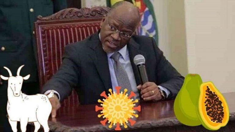 Prezydent Tanzanii / Fot. Twitter