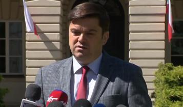 rzecznik Ministerstwa Zdrowia Wojciech Andrusiewicz/fot. screen