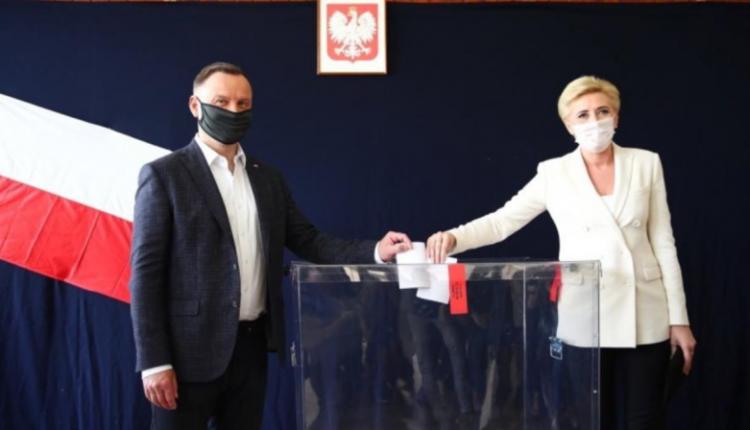 Andrzej Duda i Agata Kornhauser-Duda/ fot. Twitter