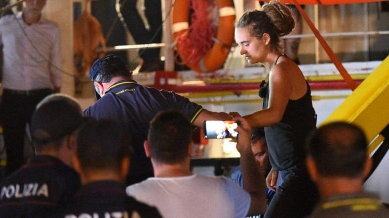 Carola Rackete / Fot. BBC - YT