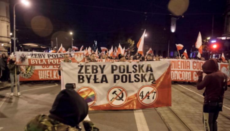 Marsz Polaków we Wrocławiu/ fot. Twitter