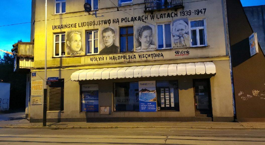 Mural Wołyński w Łodzi / Fot. KS