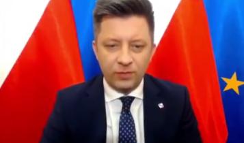 Michał Dworczyk/ fot. screen