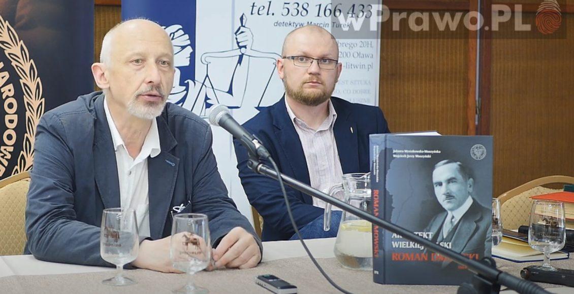 Prof. Krzysztof Kawalec i Mateusz Kotas