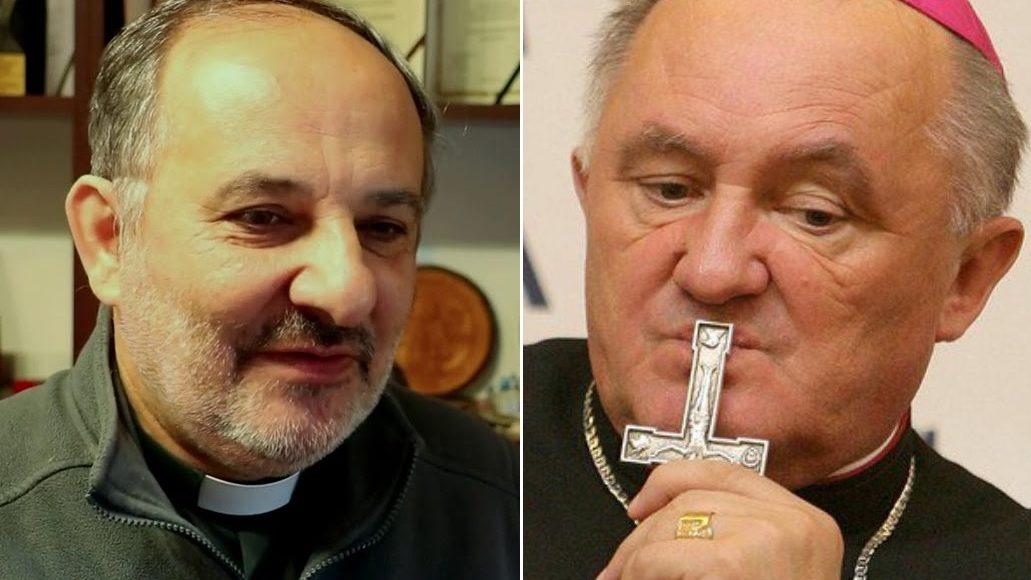 Tadeusz Isakowicz-Zaleski i kard. Kazimierz Nycz / Fot. YT