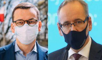 premier Mateusz Morawiecki/minister Adam Niedzielski