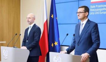 minister klimatu Michał Kurtyka i premier Mateusz Morawiecki/ fot. Twitter