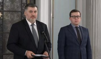Artur Dziambor i Tomasz Grabarczyk/ fot. screen