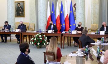 posiedzenie Rady ds. Ochrony Zdrowia przy Prezydencie RP/ fot. Twitter