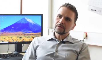 prof. Krzysztof Pyrć/ fot. screen