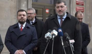 Michał Urbaniak, Grzegorz Braun, Artur Dziambor/ fot. screen