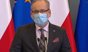 minister zdrowia Adam Niedzielski/ fot. screen