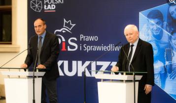 Paweł Kukiz i Jarosław Kaczyński/ fot. Facebook PiS