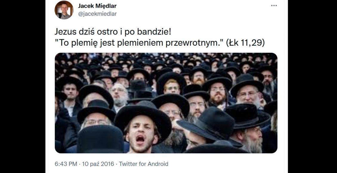 Wpis, za który oskarżyła mnie żydowska loża